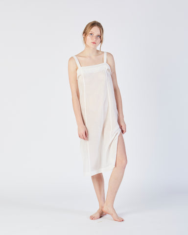 Kona slip dress in white