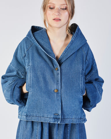 cropped big boy denim jacket