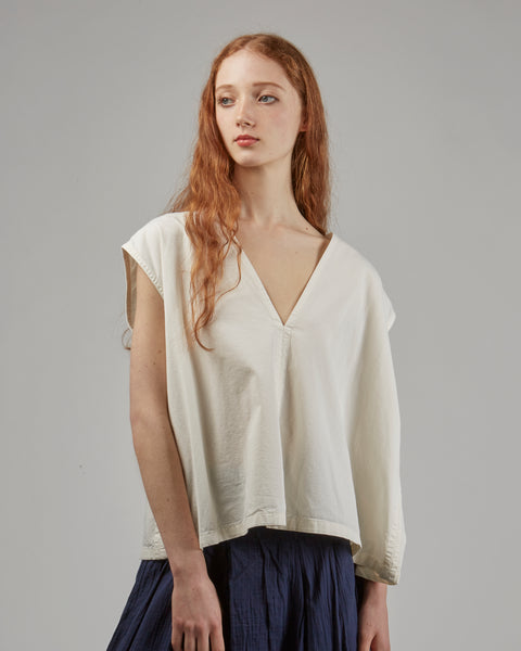 Marga top in white
