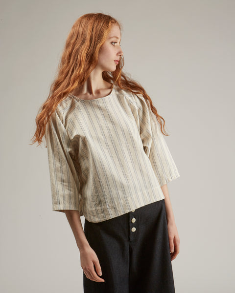Claude top in stripe