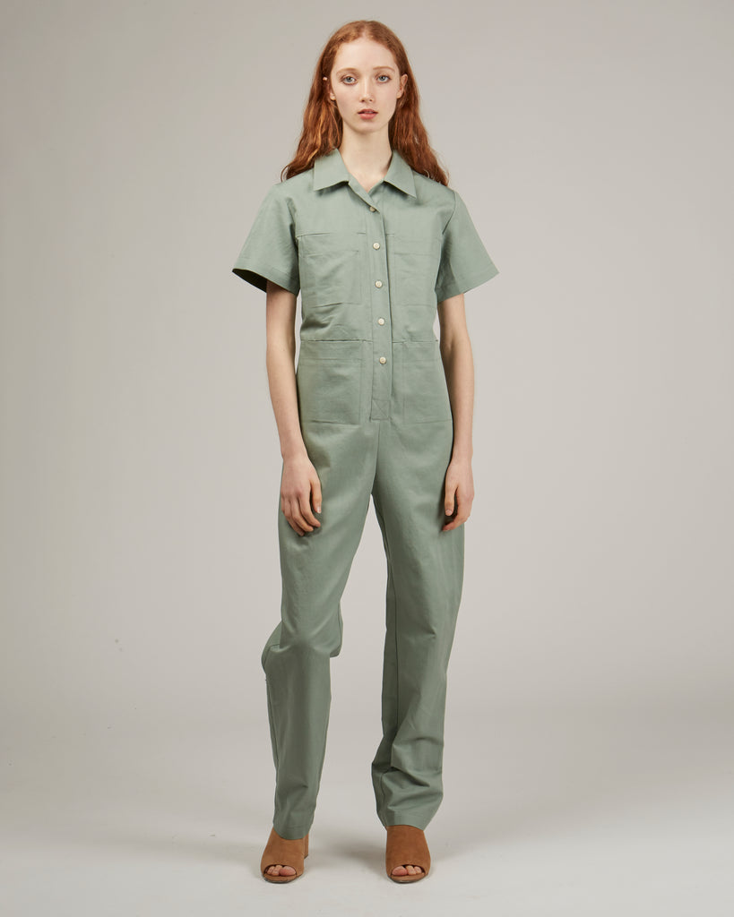 Tia coverall in jade