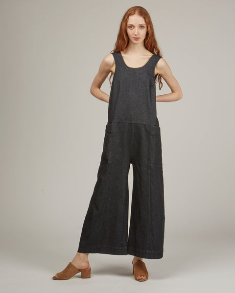 Adele Jumpsuit in dark denim