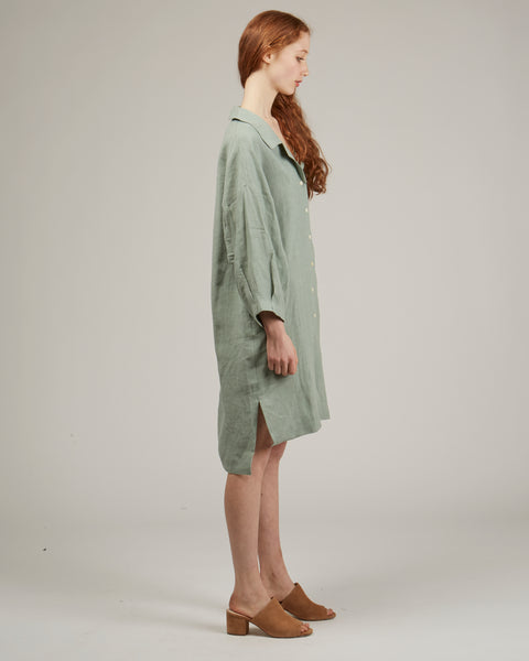 Harrison dress in Jade
