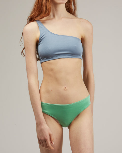 Una swim top in Blue