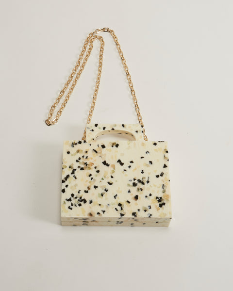 Alexa bag in white dalmatian