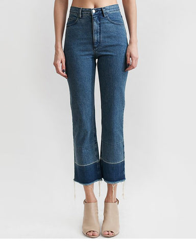 Slim Legion Denim Pant in indigo - Founders & Followers - Rachel Comey - 1