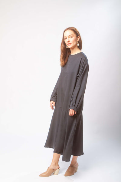 Luca dress in midnight