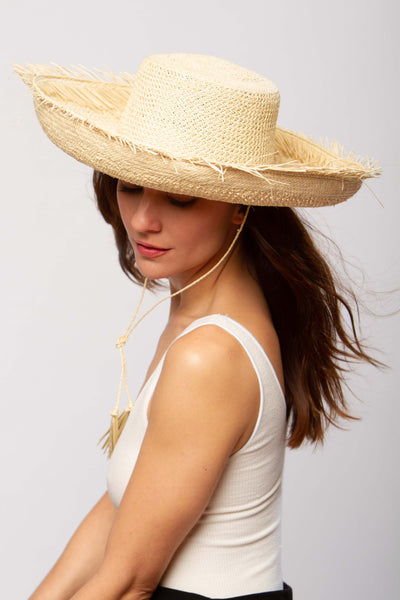 Canarias hat in natural