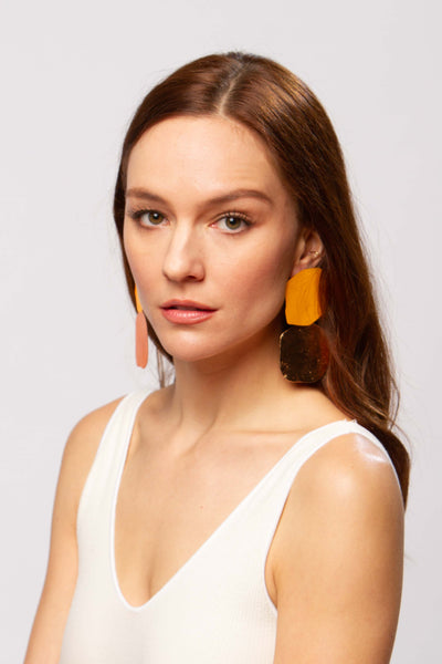 Acantha earrings in spice