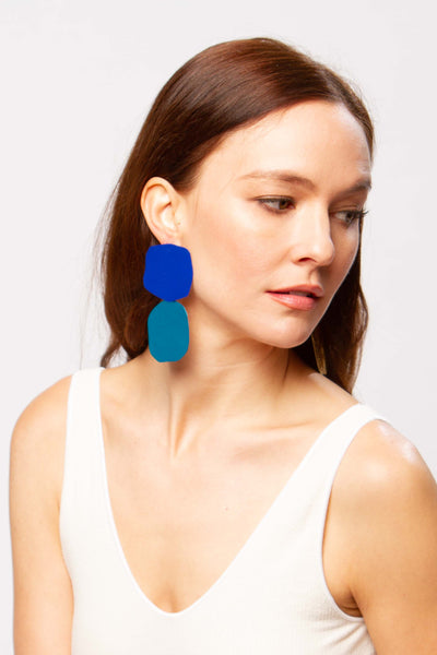 Acantha earrings in sea