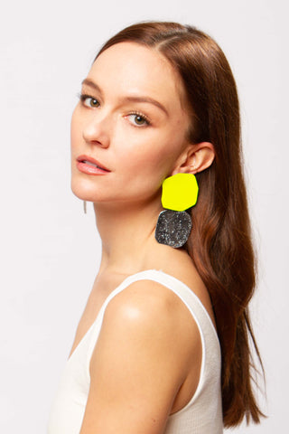 Acantha earrings in absithe