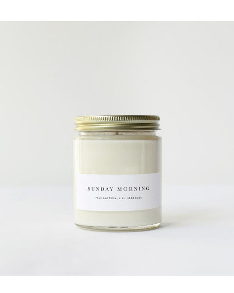 Sunday Morning Candle - Founders & Followers - Brooklyn Candle Studio - 2