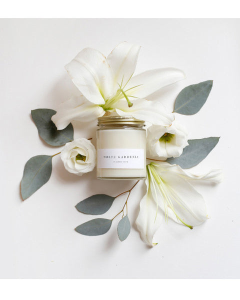 White Gardenia Candle - Founders & Followers - Brooklyn Candle Studio - 3