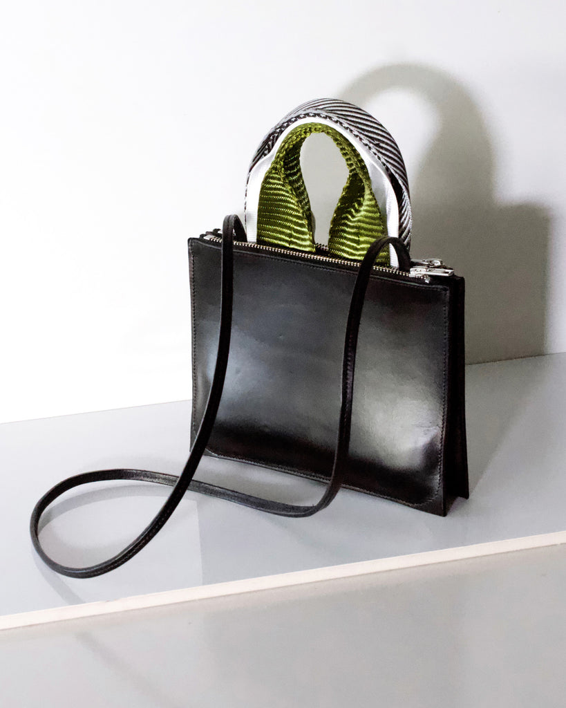 A5 leather bag
