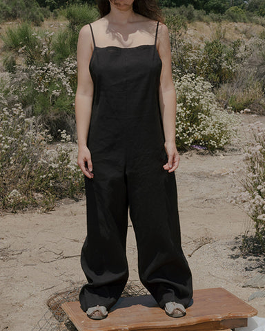 Yumi linen cotton jumpsuit