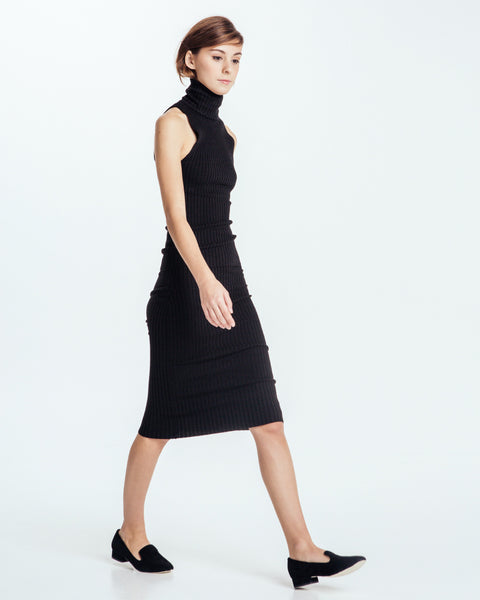 Nonna sleeveless turtleneck in Black - Founders & Followers - Giu Giu - 6