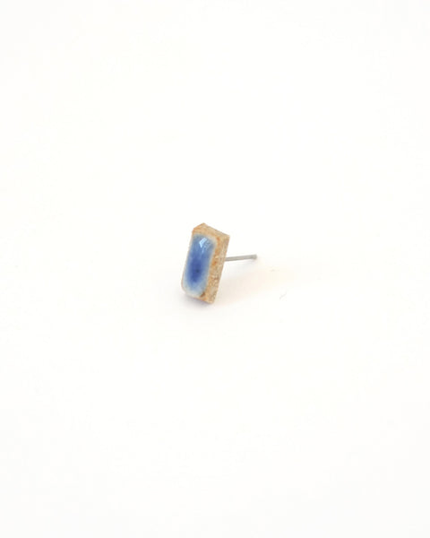 Blue Rectangle Earring - Founders & Followers - Jujumade - 2