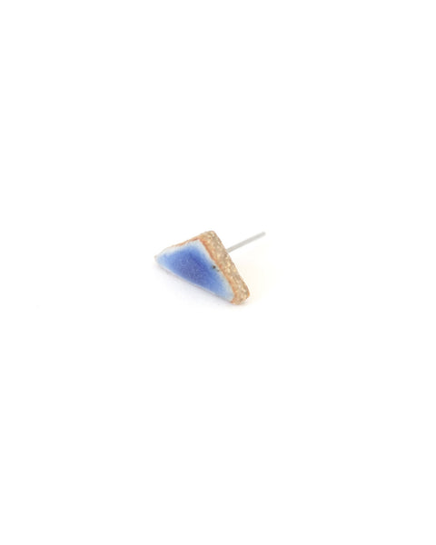 Blue Triangle Earring - Founders & Followers - Jujumade - 2