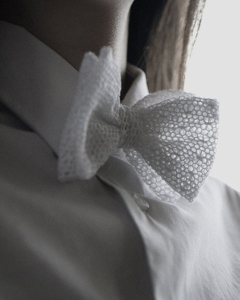 Mesh Lace Bow Tie - Founders & Followers - Marwood - 1
