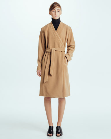 Naftali wrap coat - Founders & Followers - Shaina Mote - 1