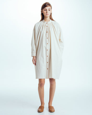 Maria Shirt dress in natural - Founders & Followers - Caron Callahan - 1