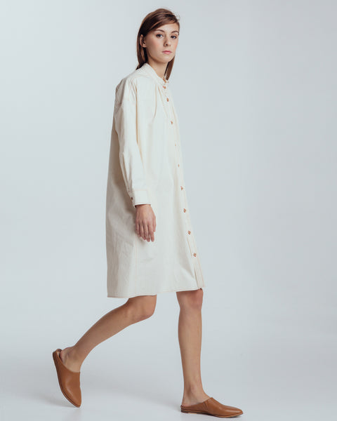 Maria Shirt dress in natural