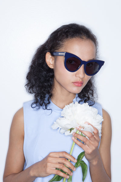 Starburst in Navy - Founders & Followers - Karen Walker - 2