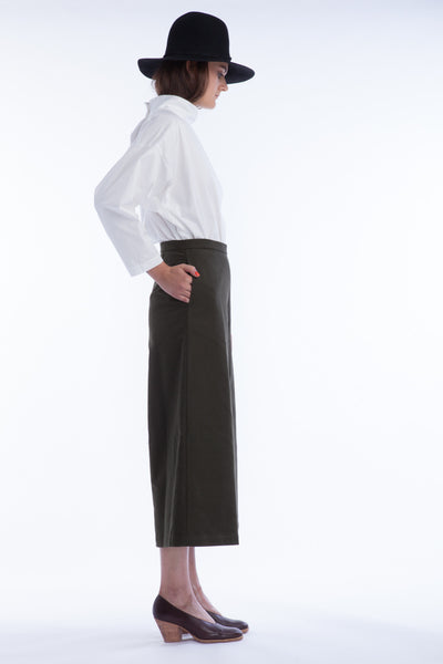 Limber Pant in Moss - Founders & Followers - Rachel Comey - 3