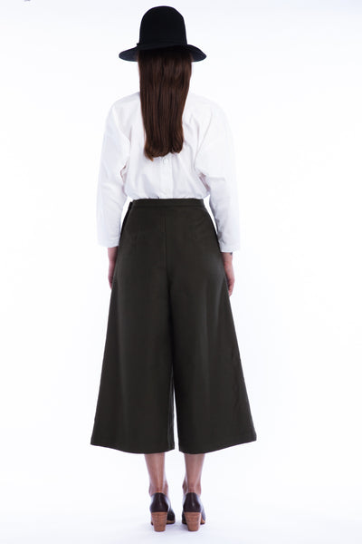 Limber Pant in Moss - Founders & Followers - Rachel Comey - 4