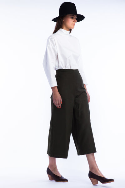 Limber Pant in Moss - Founders & Followers - Rachel Comey - 2