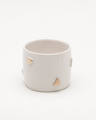 F&F Exclusive Triangle ceramic planter - Founders & Followers - Helen Levi - 1
