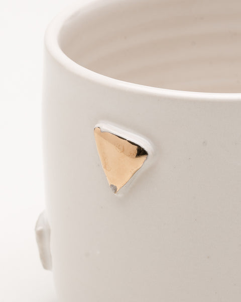 F&F Exclusive Triangle ceramic planter - Founders & Followers - Helen Levi - 4