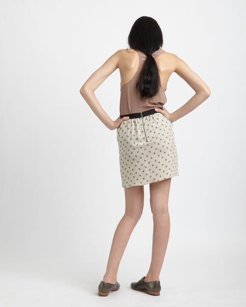 Maruki Skirt in beige - Founders & Followers - Caron Callahan - 4