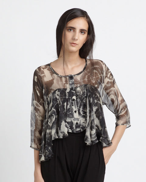Frill Blouse - Founders & Followers - Diana Orving - 1
