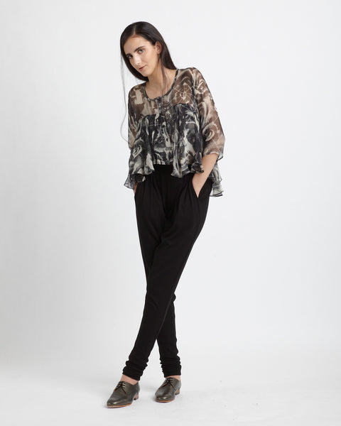 Frill Blouse - Founders & Followers - Diana Orving - 2