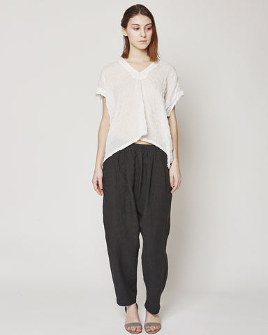Celeste top in white/graphite