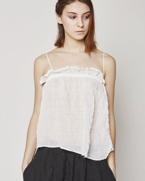 Aeriel camisole in white