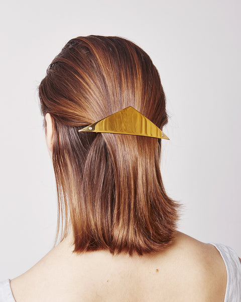 Barrette 026 in gold