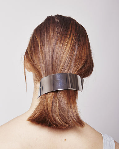 Barrette XXL 059 in silver