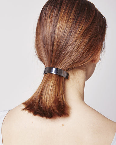 Barrette 046 in black silver