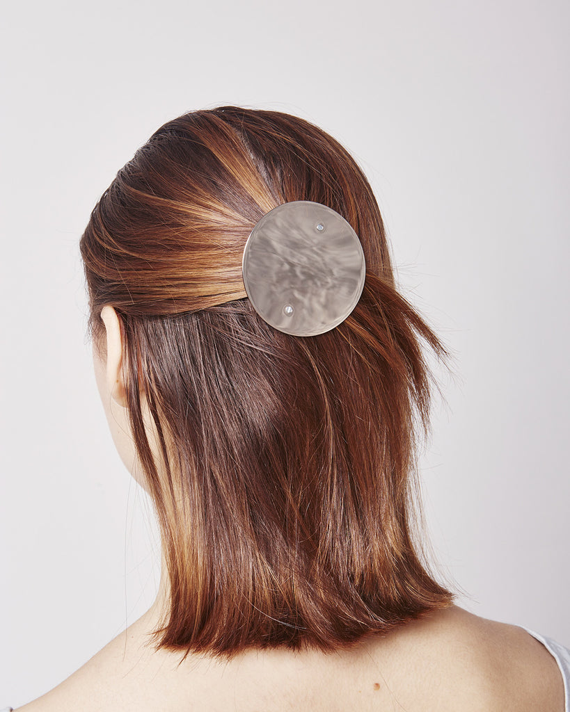 Large hairclip HC06 XL in Silver