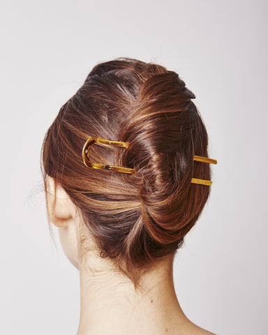 Hairpin 014 in gold
