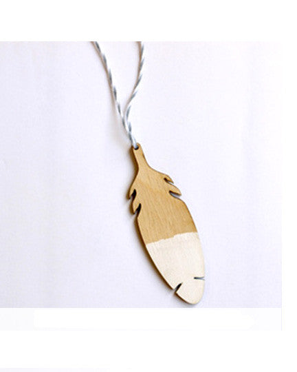 Wooden Feather Ornament - Founders & Followers - The Great Lakes Goods - 2