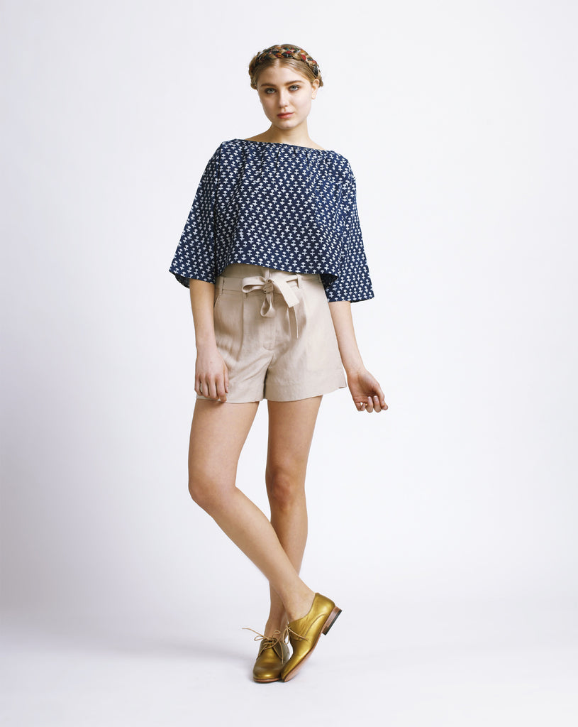 Paper Bag Shorts - Founders & Followers - Whit - 1