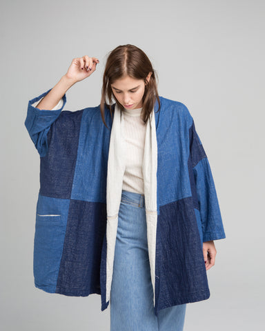 Haori denim coat - Founders & Followers - Atelier Delphine - 1