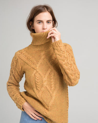 Wicklow cableknit sweater - Founders & Followers - Sessun - 1