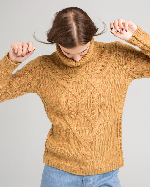 Wicklow cableknit sweater - Founders & Followers - Sessun - 2