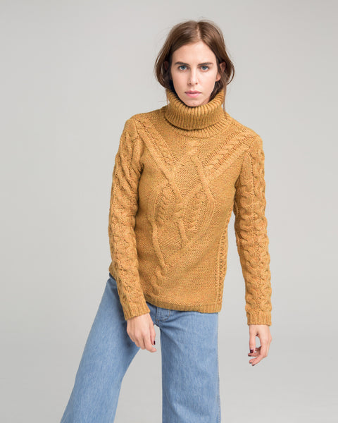 Wicklow cableknit sweater - Founders & Followers - Sessun - 3