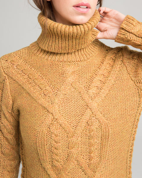 Wicklow cableknit sweater - Founders & Followers - Sessun - 4