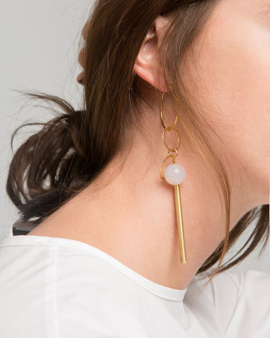 Amalio earring - Founders & Followers - Rue - 1